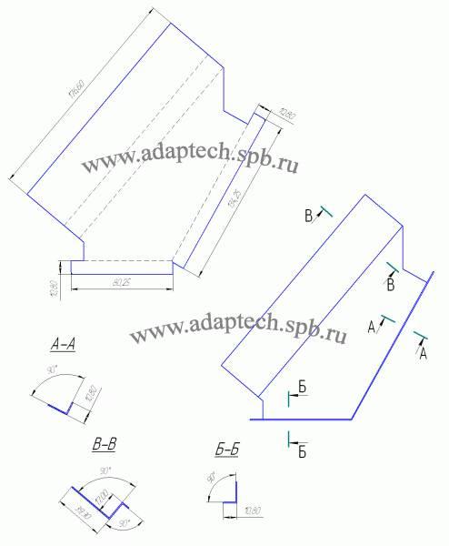 Салонный фильтр 2114 и чертеж